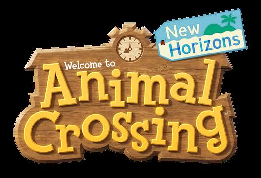 Game: Animal Crossing New Horizons - Logo