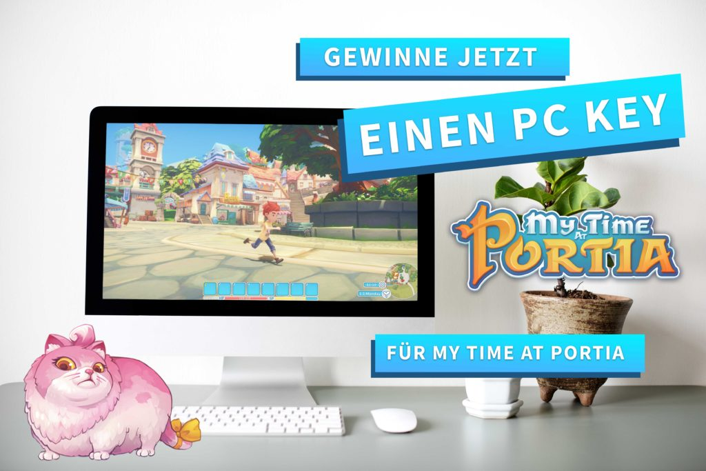 Game: My Time at Portia: Gewinnspiel Header