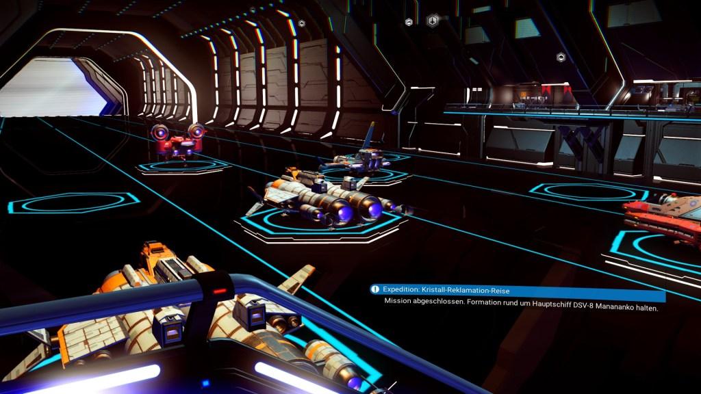 Game: No Mans Sky - Raumschiff Landeplatz