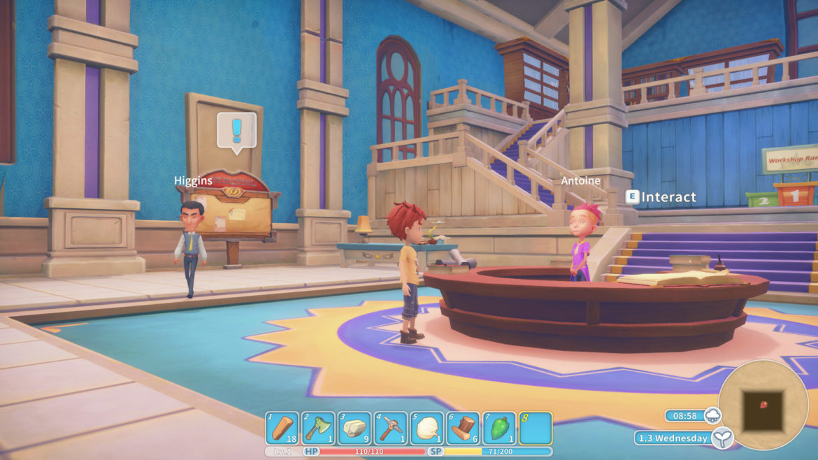 Game: My Time at Portia - Screenshot House NPC