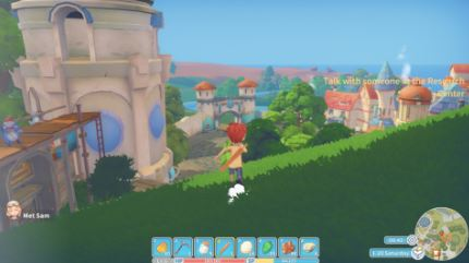 Game: My Time at Portia - Screenshot Landscape Run