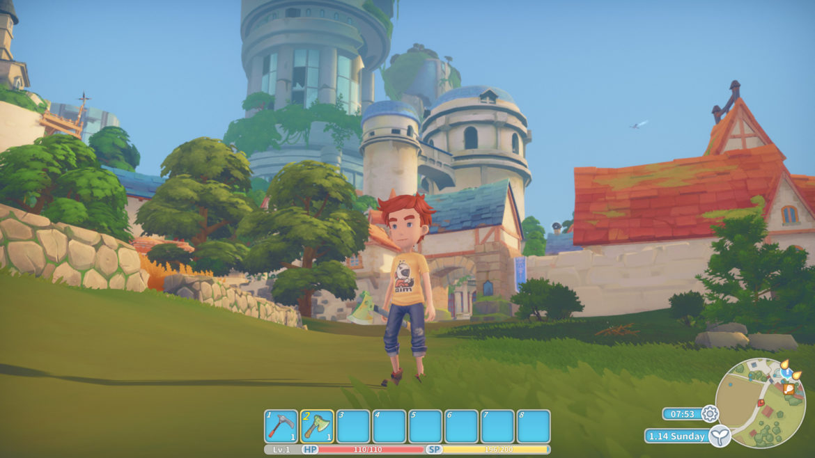 Game: My Time at Portia - Screenshot Landscape