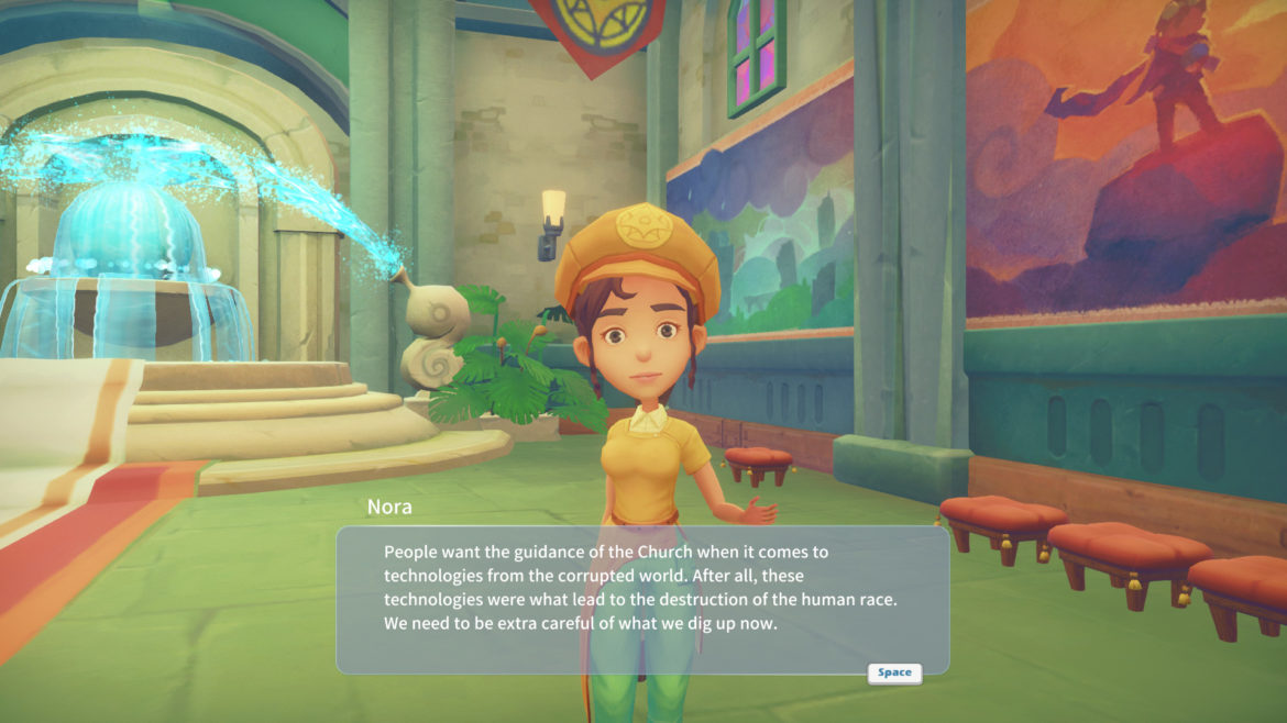Game: My Time at Portia - Screenshot NPC Nora