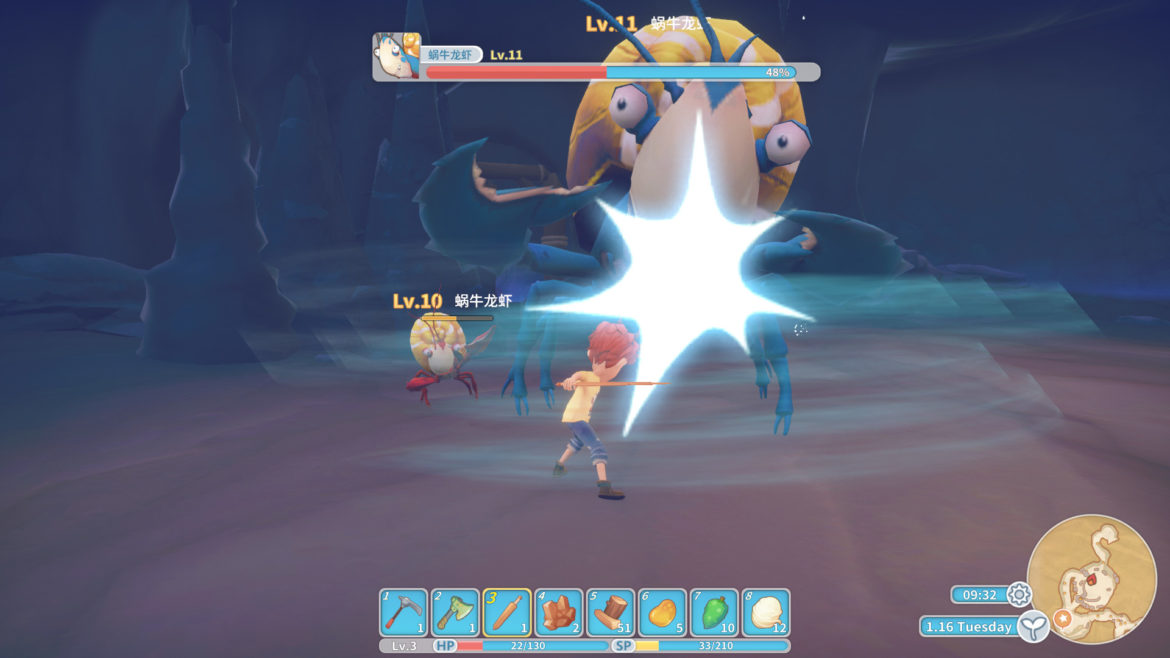 Game: My Time at Portia - Screenshot Boss Fight