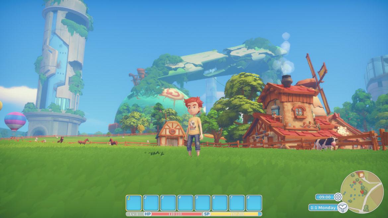 Game: My Time at Portia - Screenshot Farming