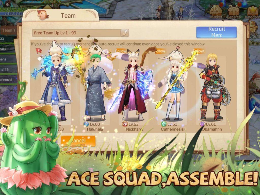 Game: Tales of Wind - Screenshot Assemble2