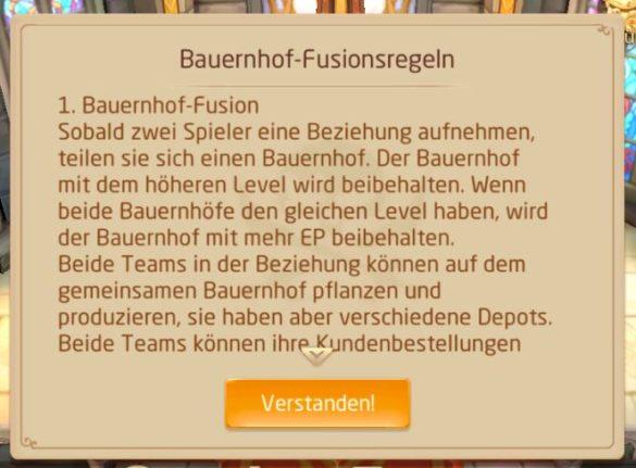 Game: Tales of Wind - Screenshot Bauernhof-Fusionsregeln
