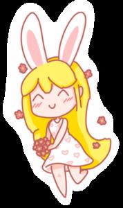 Art: Chibi - Bunny Minni
